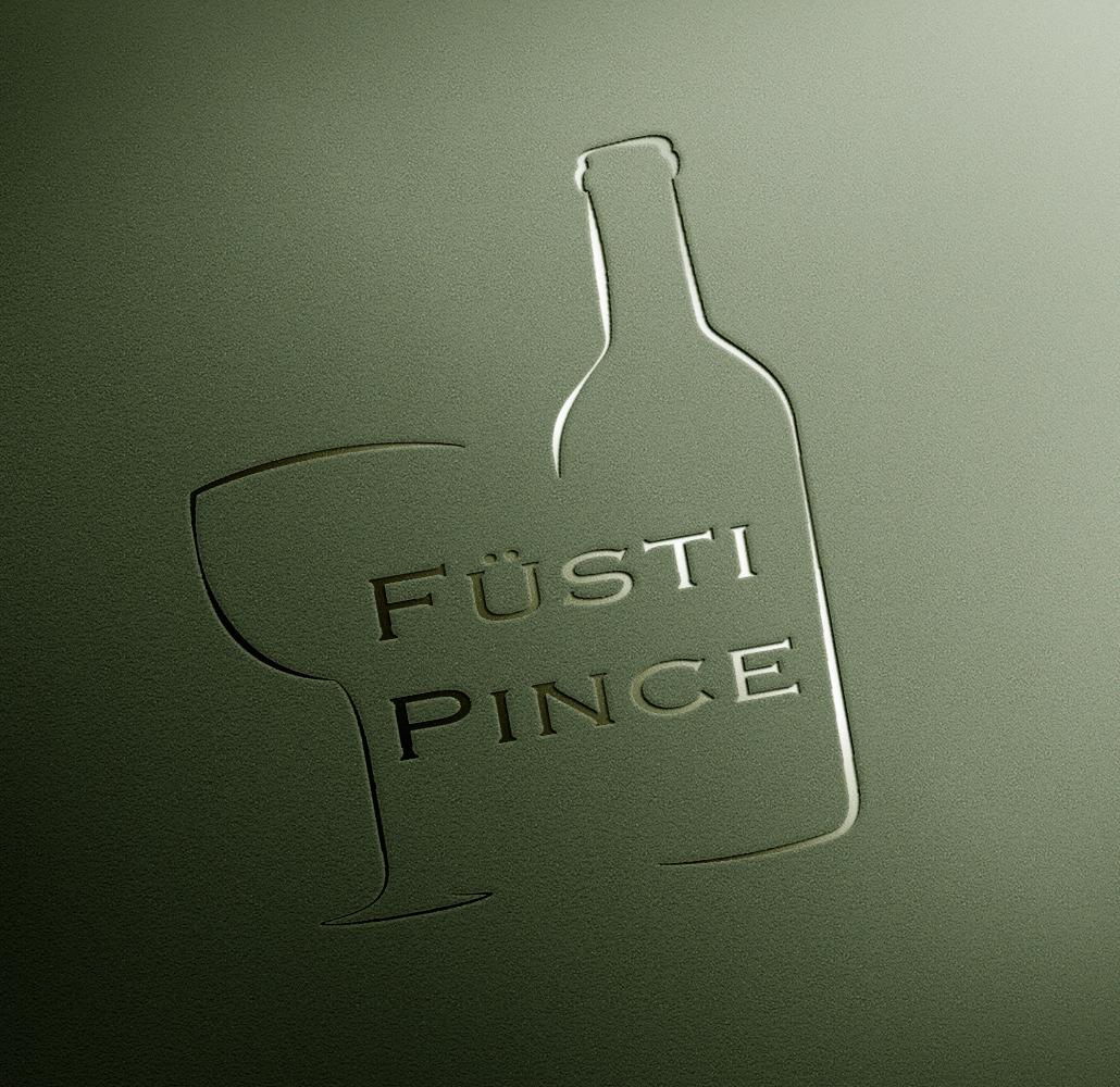 Logóterv a Füsti Pince számára